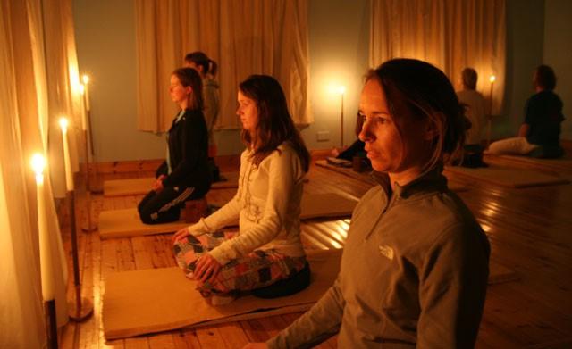 Trataka : Candle gazing meditation